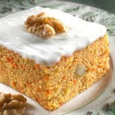 Морковный пирог в Великий пост