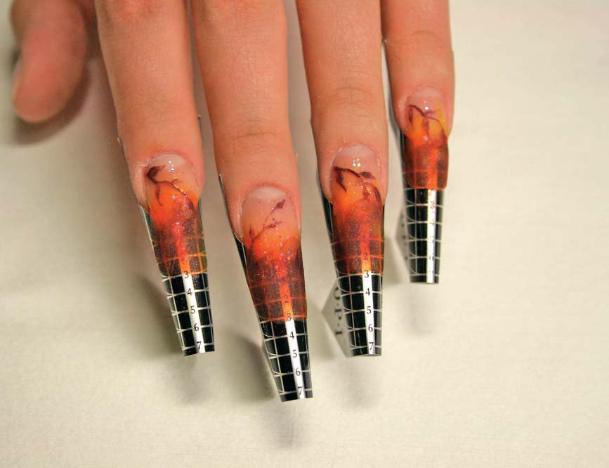Способы наращивания ногтей гелем