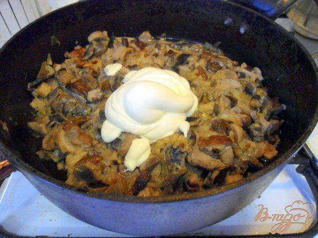 Блюда из лесных грибов рецепты