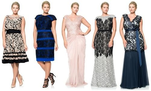 Платья размера плюс фото