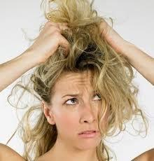 Плохой уход за волосами