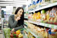 В супермаркет берите только нужную сумму денег, чтобы не было соблазна купит ненужные продукты