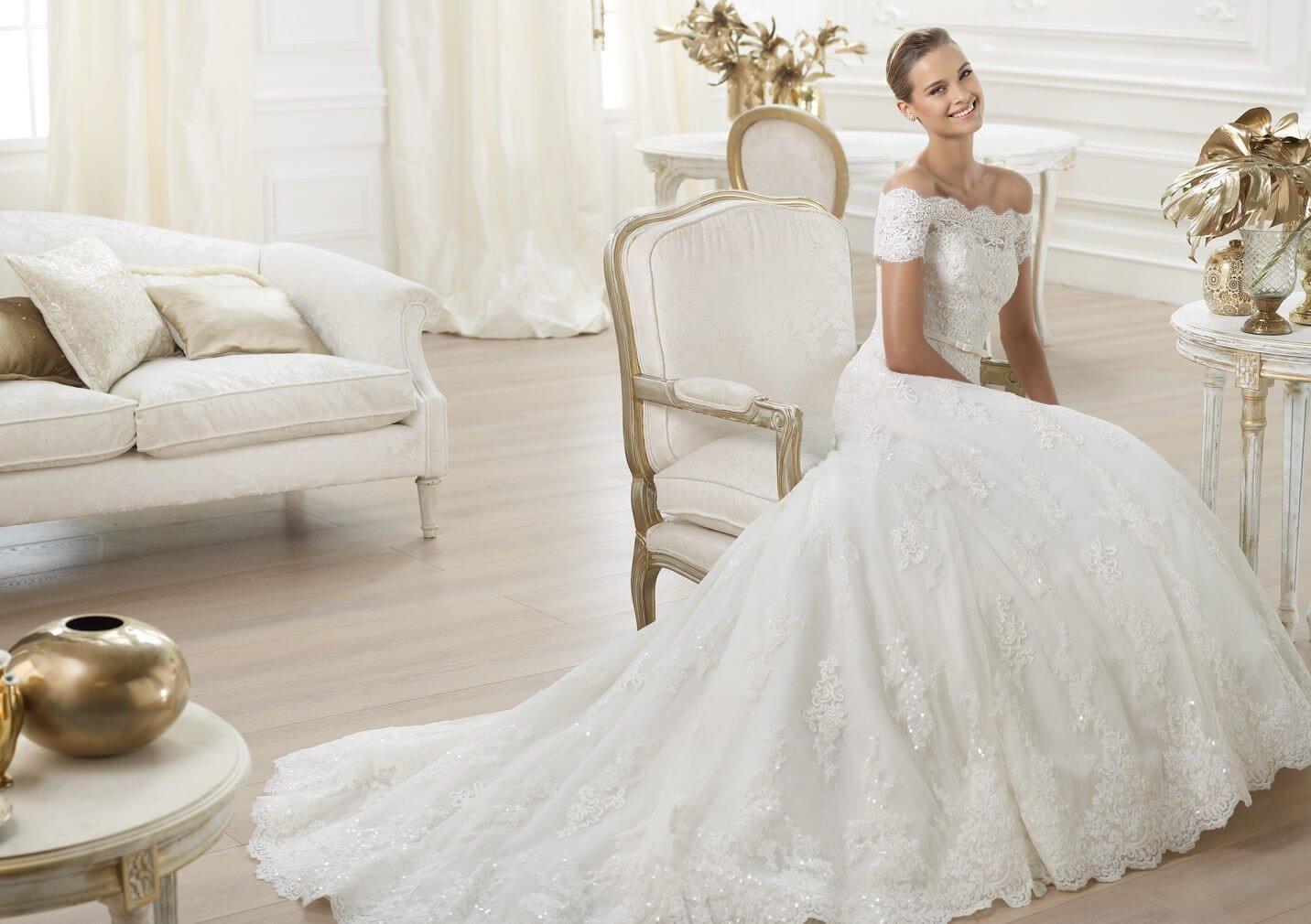 Элегантные модные свадебные платья