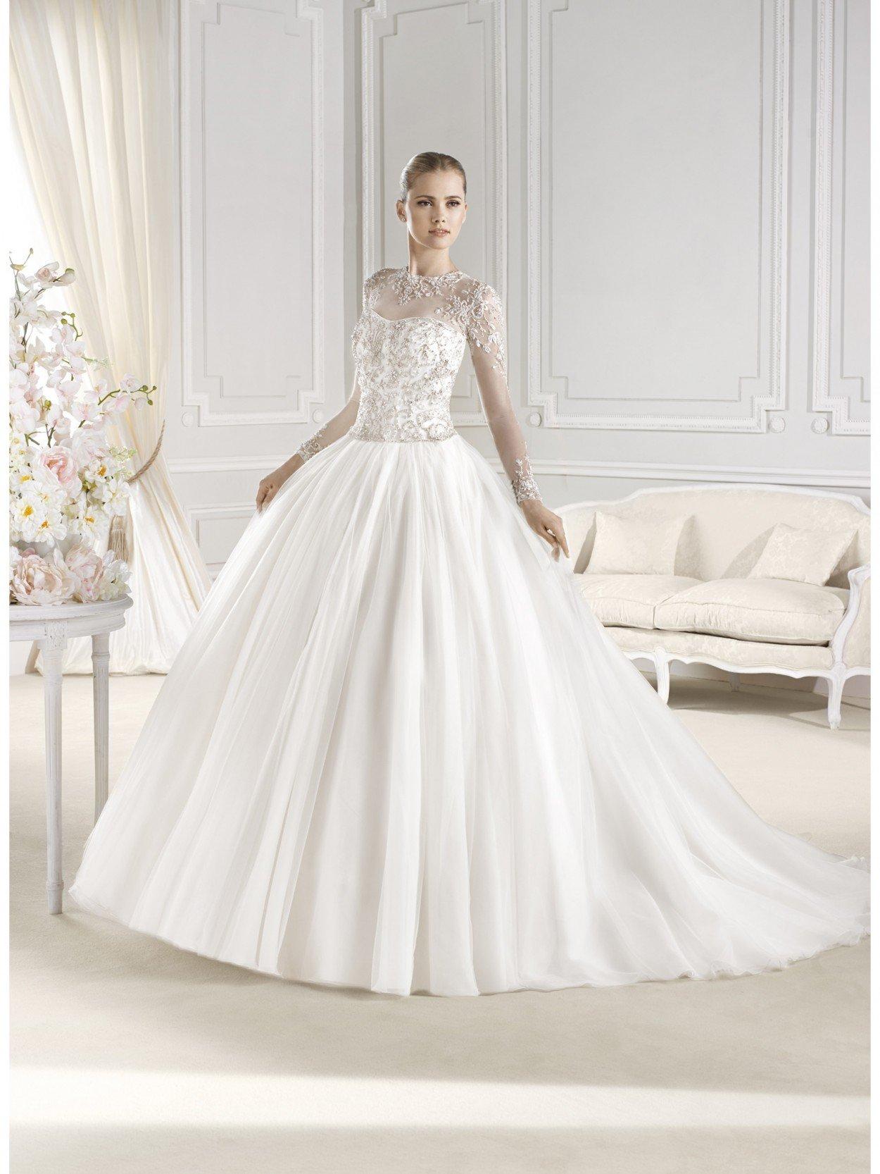 Самое модное свадебное платье этого лета