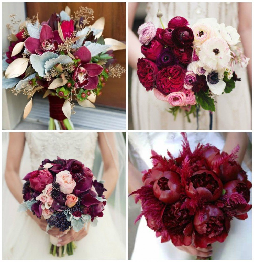Модные свадебные букеты 2015-2016