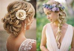 Для идеального образа важно правильно подобрать свадебную причёску
