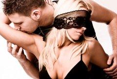 Секс с повязкой на глазах - один из главных фетишей всех женщин