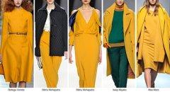 Красивый солнечный цвет переходящий в горчичный - вот что будет модно осенью 2015