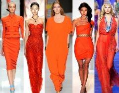 Оранжевые и жёлтые оттенки станут трендом осени 2015