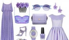 Благородный лавандовый и лиловый цвета обязательно должны быть в вашем летнем гардеробе