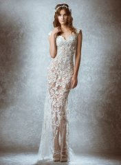 Полупрозрачное свадебное платье - стильный наряд, который очень актуален в сезоне 2015-2016