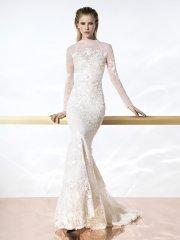 Кружевное свадебное платье стало трендом сезона 2015-2016