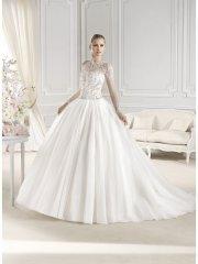 Красивое закрытое свадебное платье станет настоящим украшение любой невесты